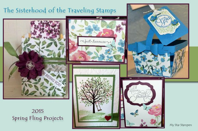 The Sisterhood of the Traveling Stamps March 2015